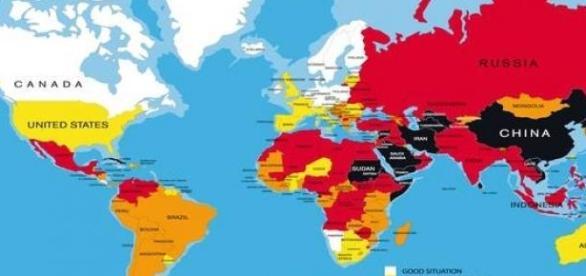 Libertà di stampa nel mondo - RSF 2015