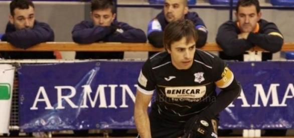 André Luis, jogador do HCT há quase 30 anos