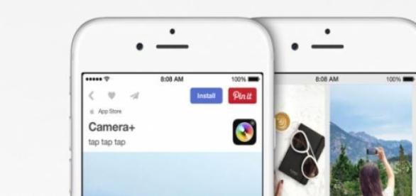 Apple y Pinterest se unen, búsqueda de apps.