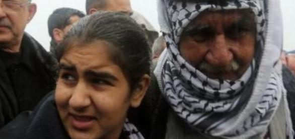 Malak est retournée chez elle avec sa famille.