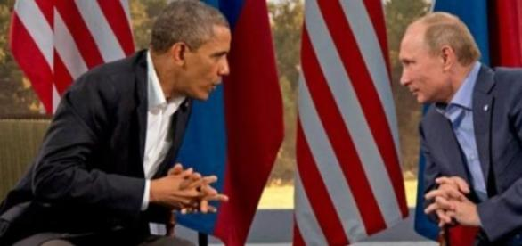 Obama si Putin , cei mai puternici pamanteni