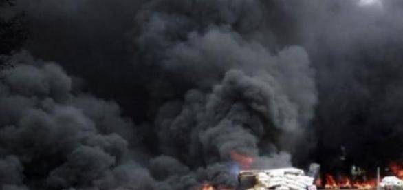 Ucraina este bombardata de Rusia!