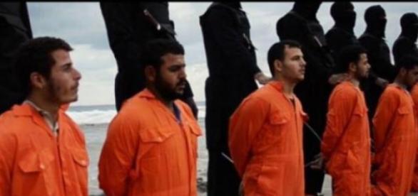 As vítimas foram decapitadas numa praia