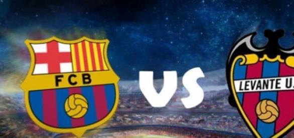 Barça fez 5 contra o Levante