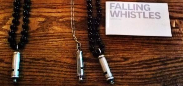 "Falling Whistles ""5-Boys"" & ""Gunmetal""."