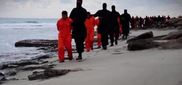 I 21 copti egiziani decapitati nei giorni scorsi