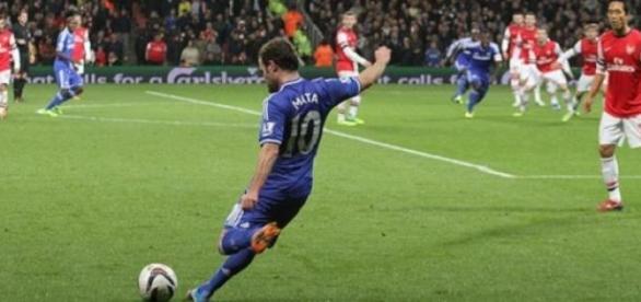 Juan Mata may be involved in a swap move