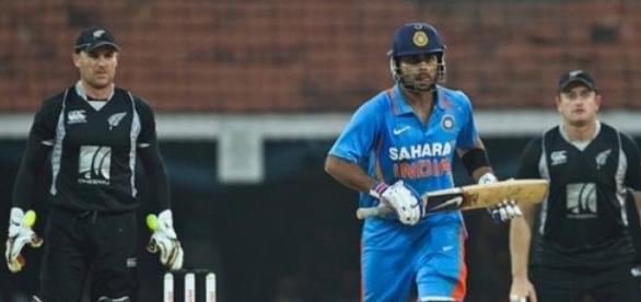 Kohli scored a magnificent century to set India up