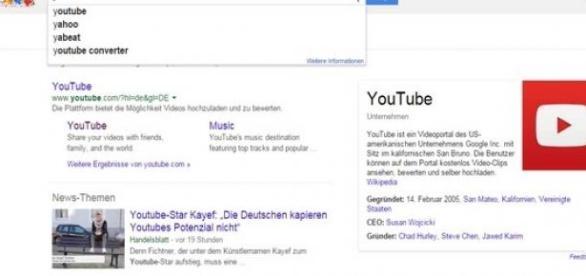 Über Google findet man auch viele Videos.