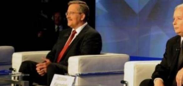 Bronisław Komorowski. Jarosław Kaczyński