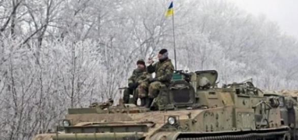 Armata ucraineana se treage din Debalţevo
