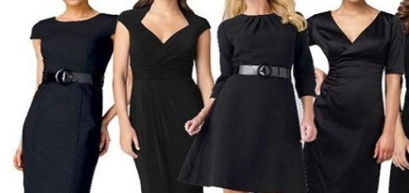 El vestido negro, un infaltable en el guardarropa