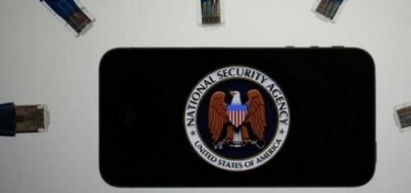 Emblème de la toute puissante NSA.