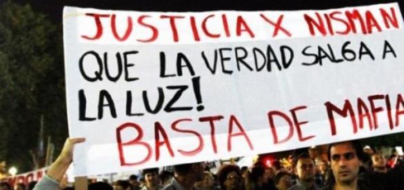 La Marcha en memoria del fiscal Alberto Nisman