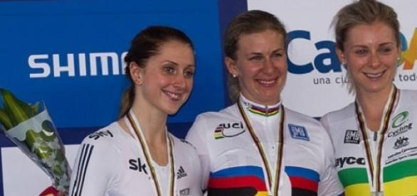 Laura Trott (left) expected to shine in Paris