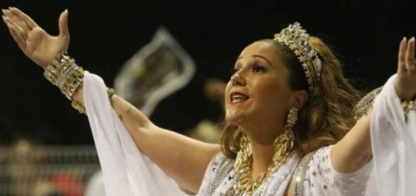 Maria Rita na Comissão de Frente da Vai-Vai