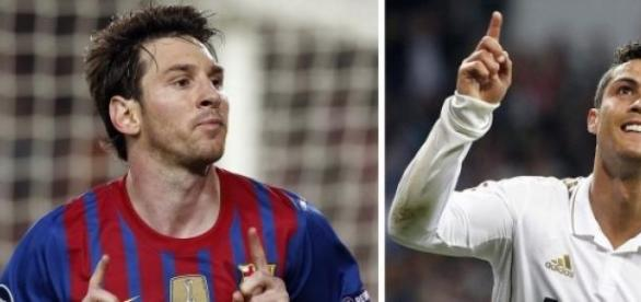 Messi e Ronaldo:Titãs do futebol actual