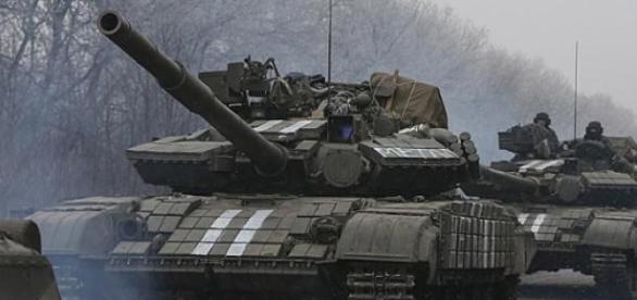 Ukrainian troops are retreating from Debalsteve