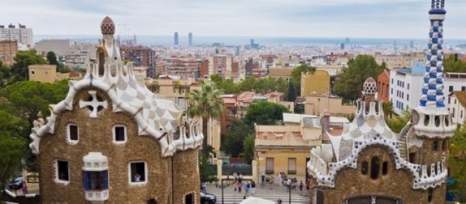 Kościół Sagrada Familia - wciąż w budowie