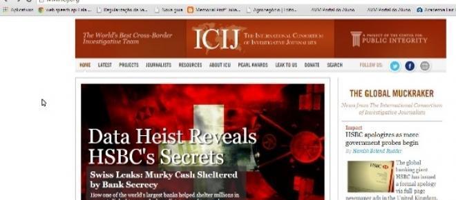 Site do ICIJ originou invetigação do Swissleaks