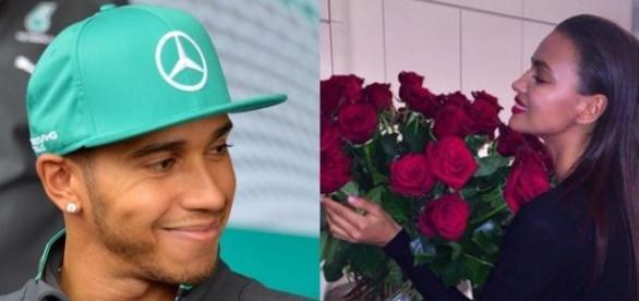 Passaram o dia de S. Valentim juntos.