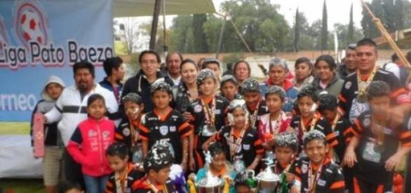 Tuzos Chimalpa Campeón categoría 2005