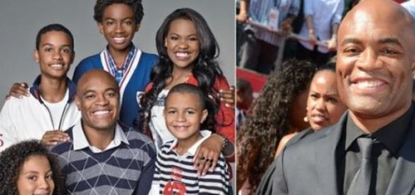 Anderson Silva e família, união incondicional