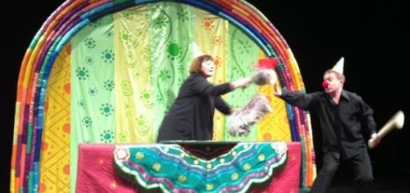 Les marionnettes du théâtre de Novossibirsk.
