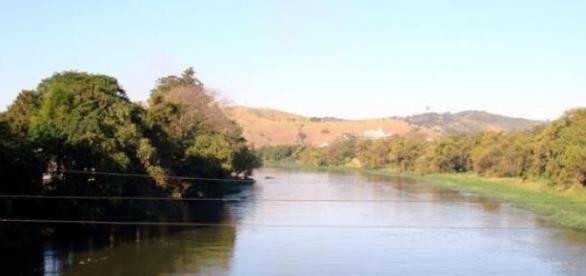 Trecho do Rio Paraíba do Sul