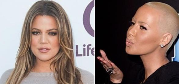 Amber Rose und Khloe Kardashian: Streit!