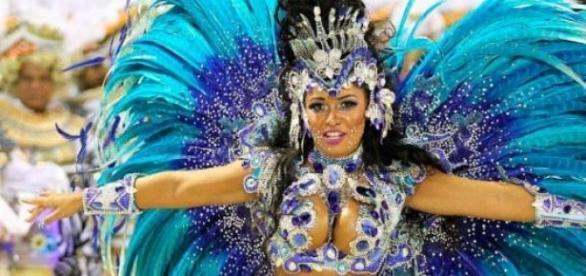 Desfile da Beija-Flor, campeã do carnaval carioca