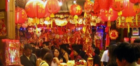 Loja de produtos na China