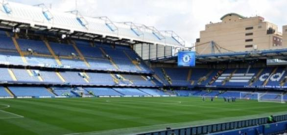 Stamford Bridge em Londres, casa do Chelsea FC