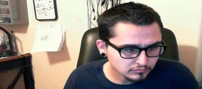 Imagen de Fidel Salinas, hacker informático. El FBI intentó reclutarlo como soplón, pero el les dijo no.