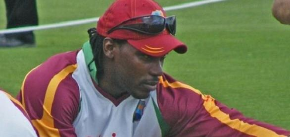 Gayle & his West Indies' teammates took the win