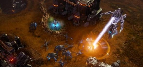Screenshot z gry Grey Goo
