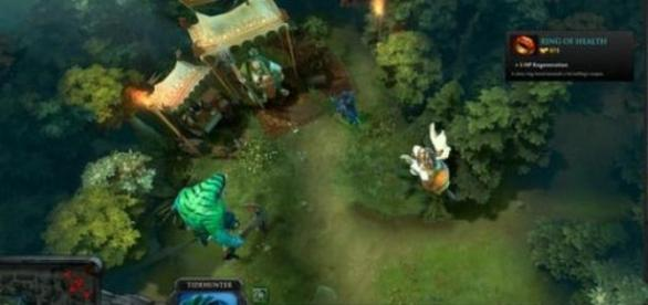 Dota 2 - zrzut ekranu z oficjlanej strony gry