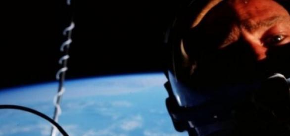 Primul selfie facut in spatiu, Buzz Aldrin
