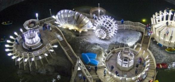 Salina Turda, un parc de distractii inedit