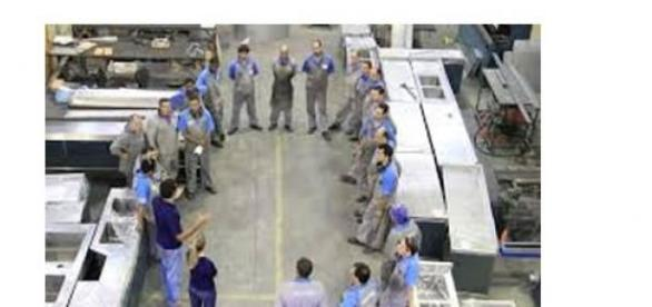 Treinamento de chão-de-fábrica