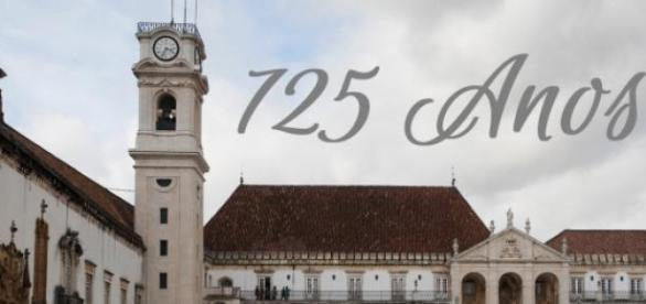 Universidade de Coimbra comemora 725 anos.