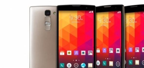 Los 4 nuevos smartphones de LG.