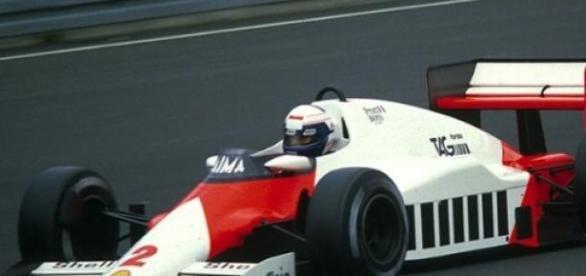 Em 1985, o primeiro título mundial de Alain Prost