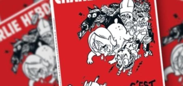 Nova capa do Charlie Hebdo.