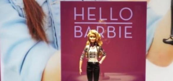 Hello Barbie, la nouvelle poupée de Mattel.