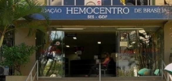 Para ser doador procure um Hemocentro