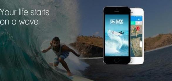 A Surfstoke é uma app para desportos de ondas.