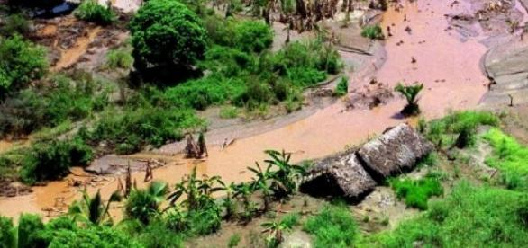 Cheias devastadoras arrasam países africanos.