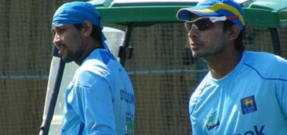 Dilshan and Sangakkara both scored centuries