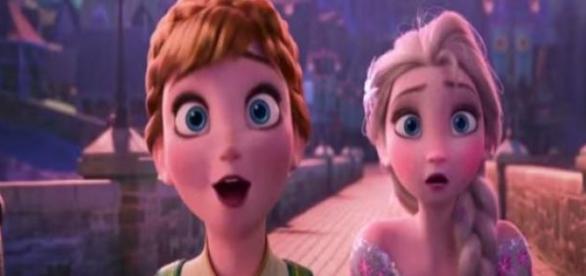 Elsa e seus amigos querem a melhor festa para Anna